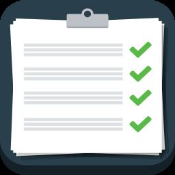 иконки задачи, список, план, clipboard,