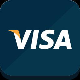 иконка visa, виза,