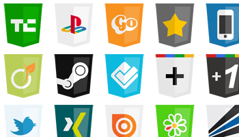 odern Web Social Icons