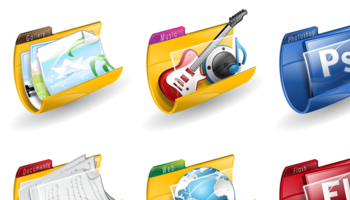 Folders iconshock