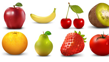 Paradise Fruit icons