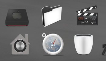 Nano icon set - Dock icon