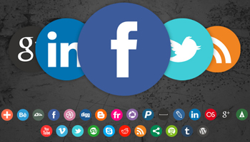 Somacro social media icons