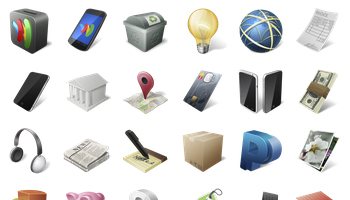 Ecommerce Business Icons