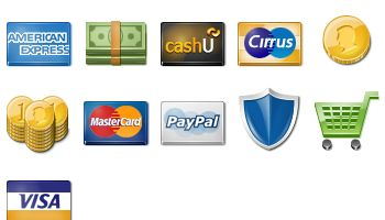 Payment Icons by WebIconSet.com