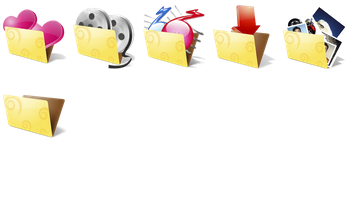 Folder icons AKKASONE