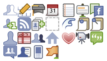 Facebook SVG icons