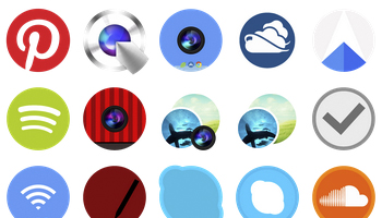 The Circle Icons by xenatt