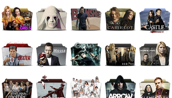 TV Series Folder Pack 1-4 Icons by atty12