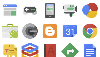 Google JFK Icons by carlosjj