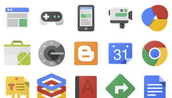 Google JFK Icons by carlosjj