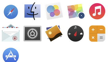 Sevenesque iOS 7 inspired Icons by Tristan Edwards