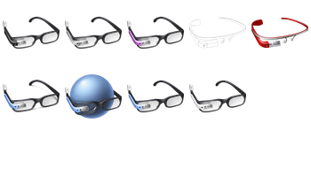 Google Glass Icons by Aha-Soft