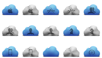 iCloud Icons by Alex