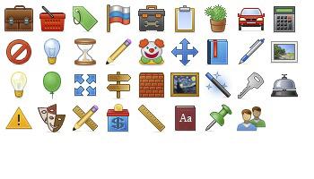 Toolbar 2 Icons by Anna Shlyapnikova