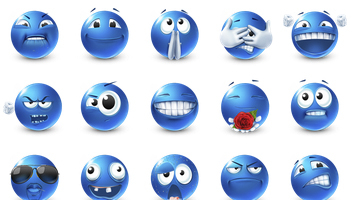 Emoticons 2 Icons by ArtDesigner.lv