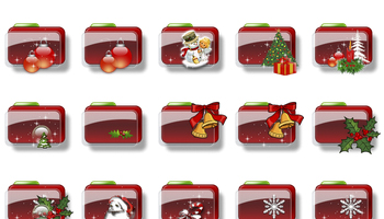 Christmas Iconorama Icons by adni18