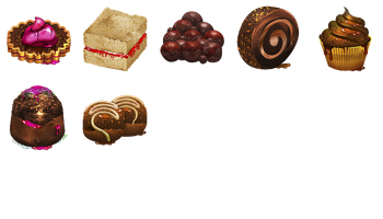 Chocolate Obsession Icons by Artbees