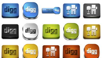 Power Up Your Digg Icons by Artbees