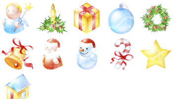 Xmas Pack Icons by Blackblurrr