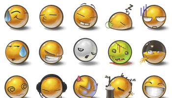 Yolks Icons by Bad Blood