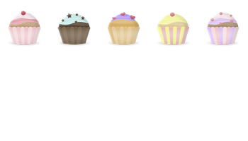 Free Cupcake Icons by Brainleaf