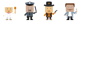 Character Icons by bevel-and-emboss
