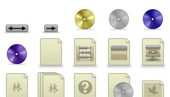 Muku Style Icons by celldrifter