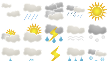 Weather Icons by Custom Icon Design
