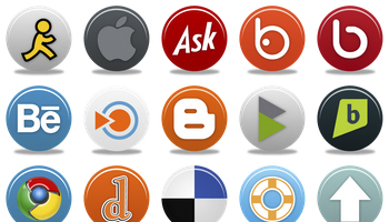 Pretty Social Media 2 Icons by Custom Icon Design