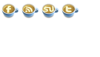 Latte Art Social Icons by Cute Little Factory