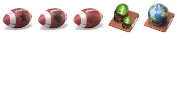 Touchdown 3D Icons by D. Arnaez