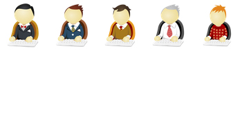 Office Men Icons by DaPino