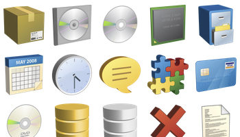 Ravenna 3D Icons by Double-J Design