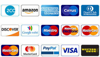 Credit Card Payment Icons by DesignBolts