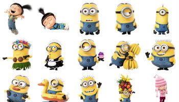 Despicable Me 2 Icons by DesignBolts