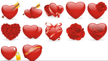Valentine Icons by DryIcons