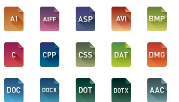 File Type Icons by webIconSet