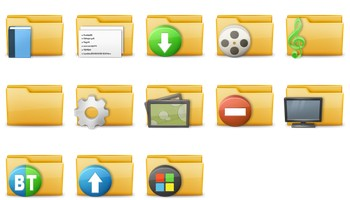 Folder Icons by Delacro
