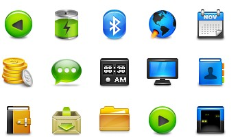 Once Again Icons by Delacro