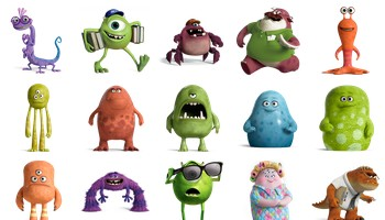 Monsters University Icons by DesignBolts