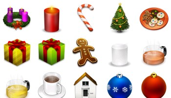 The Real Christmas 05 Icons