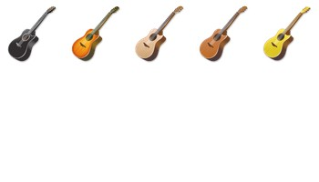 Acoustic Guitar Icons by Fast Icon Design