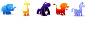 Animal Toys Icons by Fast Icon Design