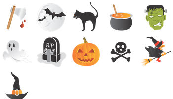 Halloween Icons by CSS Creme
