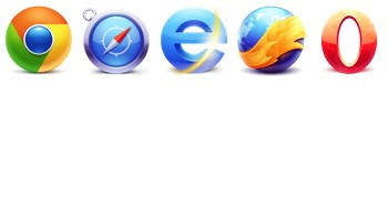 Browser icons by Arthur Zaynullin