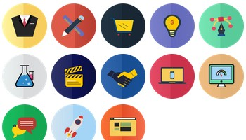 Flat Icons by jozef89