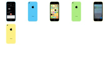 iPhone 5C Flat Design