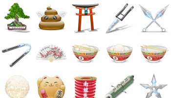 Japanicons Icons by ZaKaR