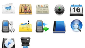 Mobilephone Icons by Youdu